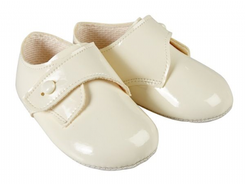 Pram Shoe with Button